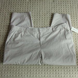 3/$20 Style&Co 16W Ankle Pants Gray Mid Rise